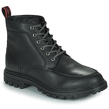 Topánky Muži Polokozačky Base London ROCHDALE Čierna
