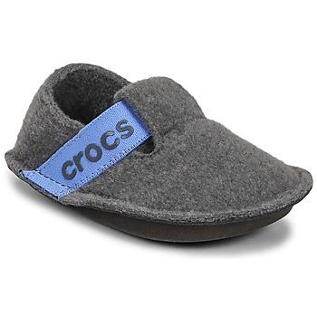 Topánky Deti Papuče Crocs CLASSIC SLIPPER K Šedá / Modrá