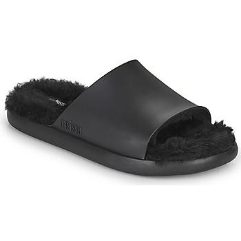 Topánky Ženy športové šľapky Melissa MELISSA FLUFFY SIDE AD Čierna
