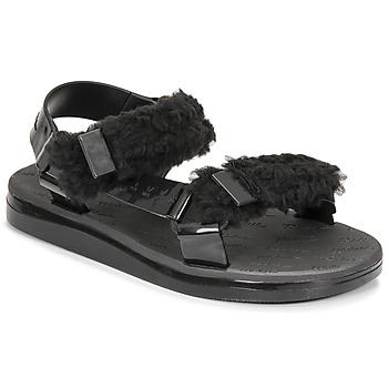 Topánky Ženy Sandále Melissa MELISSA PAPETTE FLUFFY RIDER AD Čierna