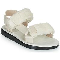 Topánky Ženy Sandále Melissa MELISSA PAPETTE FLUFFY RIDER AD Béžová / Čierna