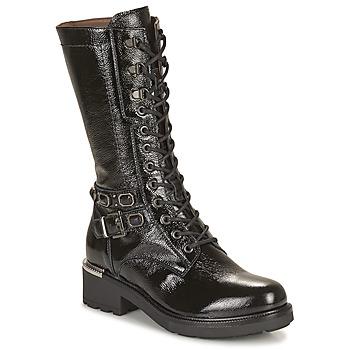 Topánky Ženy Čižmy do mesta NeroGiardini COURGO Čierna