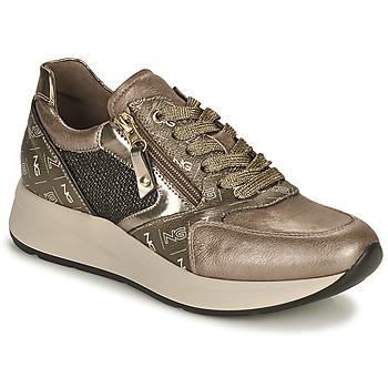 Topánky Ženy Nízke tenisky NeroGiardini  Zlatá