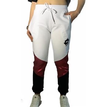 Oblečenie Ženy Tepláky a vrchné oblečenie Lotto LTD447 White/Fuchsia