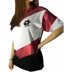 Oblečenie Ženy Tričká s krátkym rukávom Lotto LTD445 White/Fuchsia