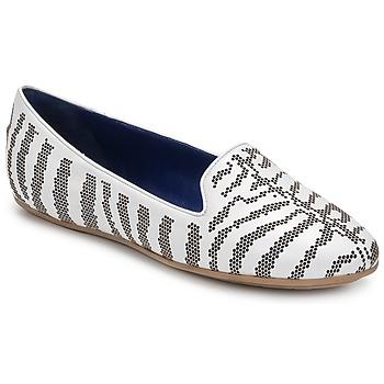 Topánky Ženy Mokasíny Roberto Cavalli TPS648 Biela
