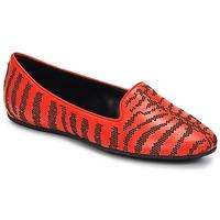Topánky Ženy Mokasíny Roberto Cavalli TPS648 Červená
