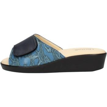 Topánky Ženy Šľapky Clia Walk COMFORT310 Blue