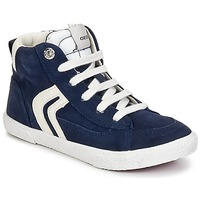 Topánky Chlapci Členkové tenisky Geox KIWI BOY Námornícka modrá