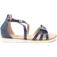 Topánky Deti Sandále Miss Sixty S19-SMS577 Modrá