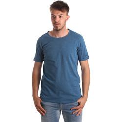 Oblečenie Muži Tričká a polokošele Gaudi 911BU64027 Modrá