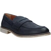 Topánky Muži Mokasíny Melluso XU31063 Modrá