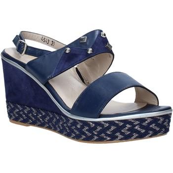 Topánky Ženy Sandále Melluso HR70814 Modrá