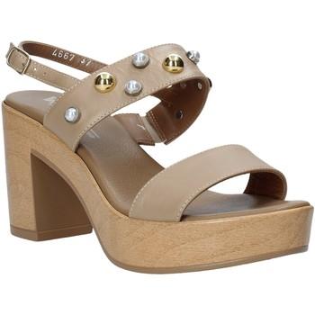 Topánky Ženy Sandále Melluso HR80107 Béžová