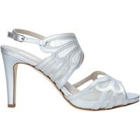 Topánky Ženy Sandále Melluso HS845 Striebro