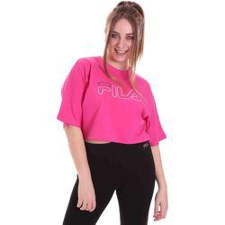 Oblečenie Ženy Tričká s krátkym rukávom Fila 683303 Ružová