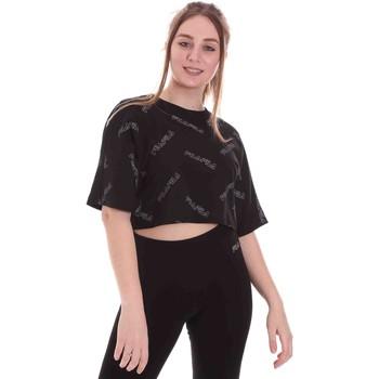 Oblečenie Ženy Tričká s krátkym rukávom Fila 683304 čierna