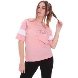 Oblečenie Ženy Tričká s krátkym rukávom Fila 683283 Ružová