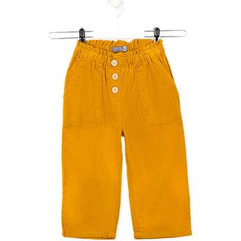 Oblečenie Deti Nohavice Losan 026-9002AL žltá