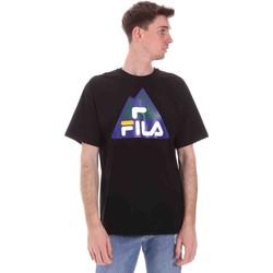 Oblečenie Muži Tričká s krátkym rukávom Fila 688525 čierna