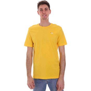 Oblečenie Muži Tričká s krátkym rukávom Fila 682201 žltá