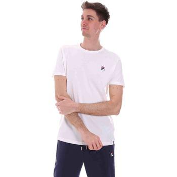 Oblečenie Muži Tričká s krátkym rukávom Fila 688567 Biely