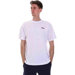 Oblečenie Muži Tričká s krátkym rukávom Fila 688448 Biely
