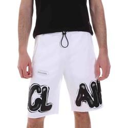Oblečenie Muži Šortky a bermudy Disclaimer 21EDS50615 Biely