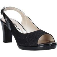 Topánky Ženy Sandále Valleverde 28340 čierna