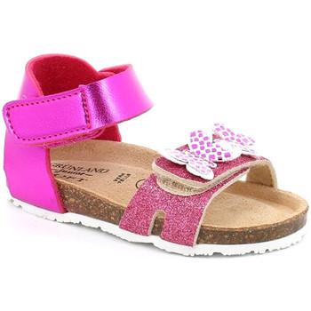 Topánky Dievčatá Sandále Grunland SB1716 Ružová