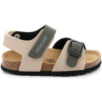 Topánky Deti Sandále Grunland SB0231 Béžová