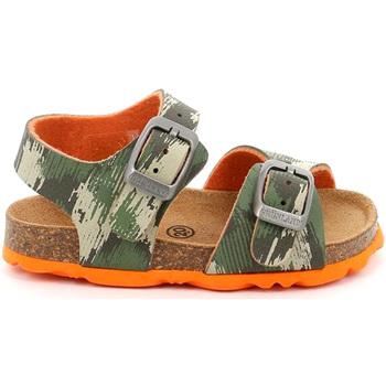 Topánky Deti Sandále Grunland SB0386 Zelená