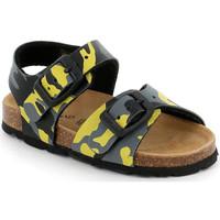 Topánky Deti Sandále Grunland SB0969 žltá