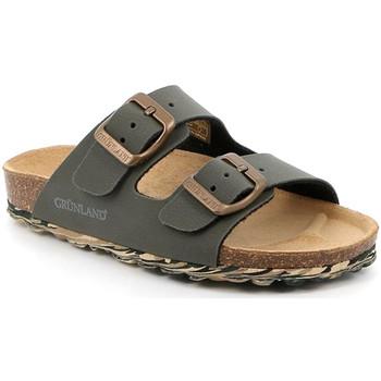Topánky Deti Šľapky Grunland CB2651 Zelená