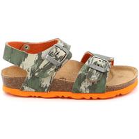 Topánky Deti Sandále Grunland SB1226 Zelená