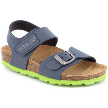 Topánky Deti Sandále Grunland SB0234 Modrá