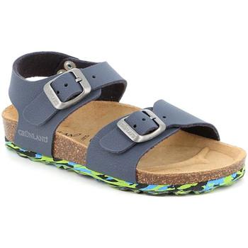 Topánky Deti Sandále Grunland SB1644 Modrá