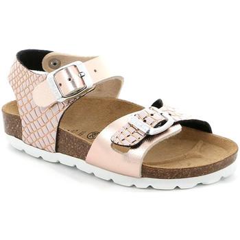 Topánky Dievčatá Sandále Grunland SB1675 Ružová