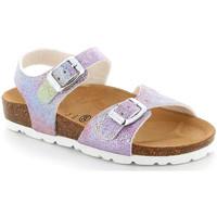 Topánky Deti Sandále Grunland SB1659 Fialový