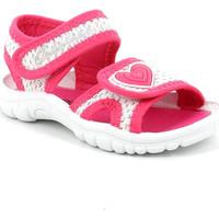 Topánky Dievčatá Sandále Grunland PS0060 Ružová