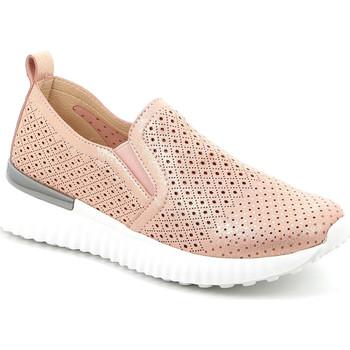 Topánky Ženy Slip-on Grunland SC5136 Ružová
