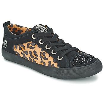 Topánky Ženy Nízke tenisky Diesel LEOPAR Čierna