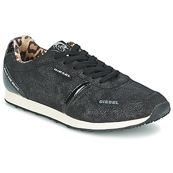 Topánky Ženy Nízke tenisky Diesel METAL Čierna