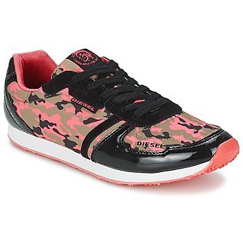 Topánky Ženy Nízke tenisky Diesel CAMOUFLAGE Maskáčový vzor