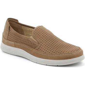 Topánky Muži Slip-on Grunland SC5196 Hnedá