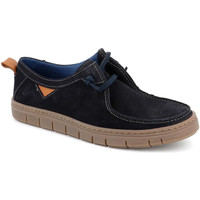 Topánky Muži Mokasíny Grunland SC5034 Modrá