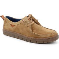 Topánky Muži Mokasíny Grunland SC5034 Béžová
