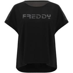 Oblečenie Ženy Tričká s krátkym rukávom Freddy S1WTBT3 čierna
