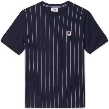Oblečenie Deti Tričká s krátkym rukávom Fila 688809 Modrá