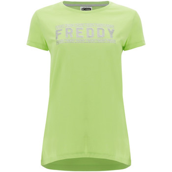 Oblečenie Ženy Tričká s krátkym rukávom Freddy S1WCLT2 Zelená